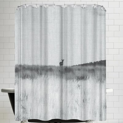 Annie Bailey Prairie Shadows Shower Curtain