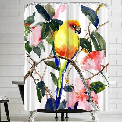 Suren Nersisyan Conure Shower Curtain