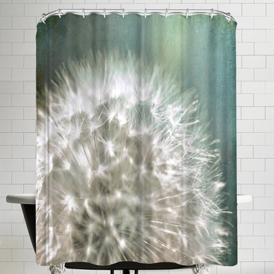 Annie Bailey Quiet Loud Shower Curtain