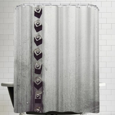 Annie Bailey Rivets No I Shower Curtain
