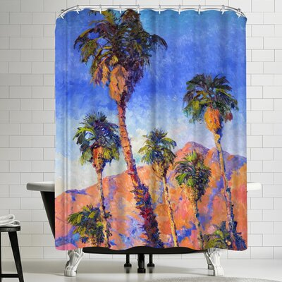 Suren Nersisyan Desert Palms II Shower Curtain