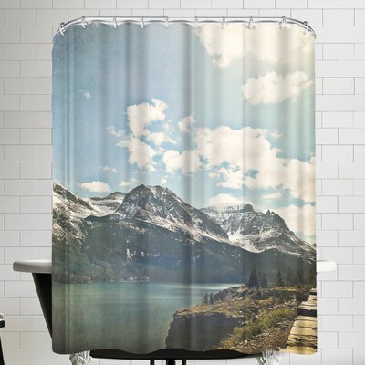 Annie Bailey Saint Mary Lake Shower Curtain