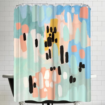 Annie Bailey Saturdays Shower Curtain