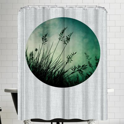 Annie Bailey Silhouette Shower Curtain
