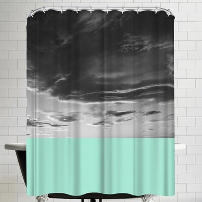 Annie Bailey Skyscape No IIII Shower Curtain
