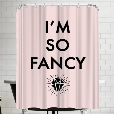 Annie Bailey So Fancy Shower Curtain