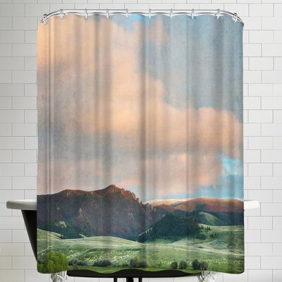 Annie Bailey Springtime Skies Shower Curtain
