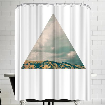Annie Bailey Stormy Days Shower Curtain