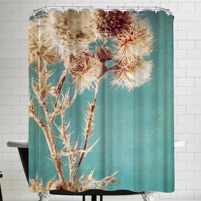 Annie Bailey Thistles Shower Curtain