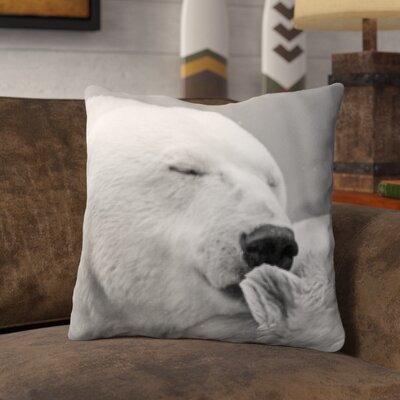 Pohlman Bear Kiss Throw Pillow