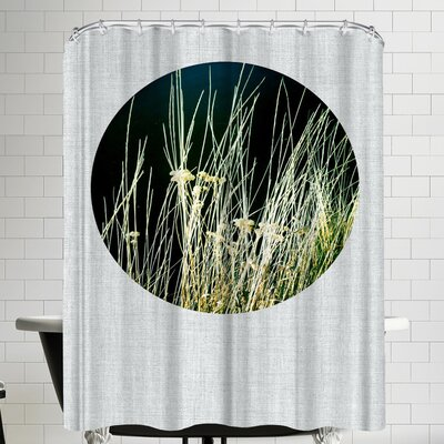 Annie Bailey Wild Grasses Shower Curtain