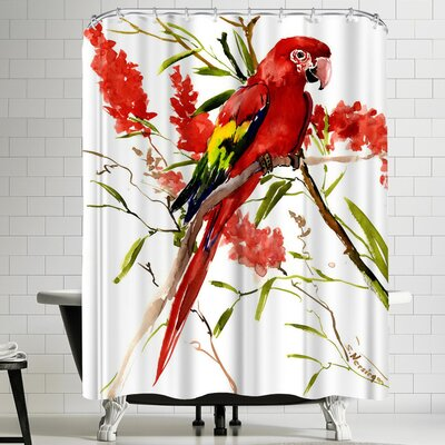 Suren Nersisyan Macaw Shower Curtain