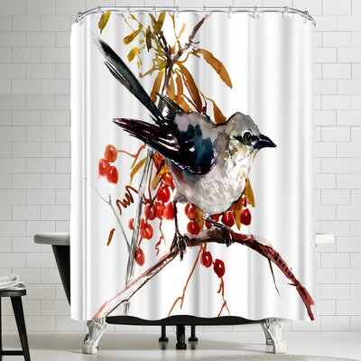 Suren Nersisyan Mockingbird Shower Curtain
