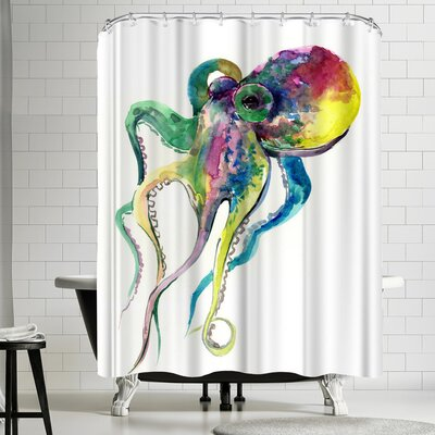 Suren Nersisyan Octopus II Shower Curtain