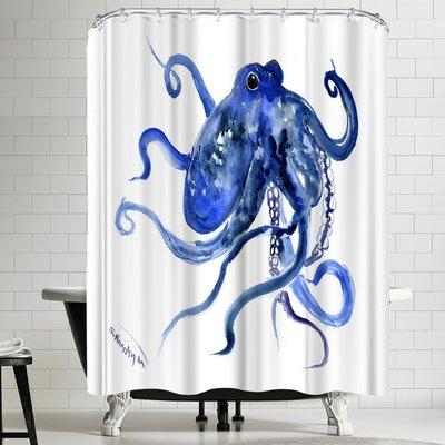Suren Nersisyan Octopus III Shower Curtain