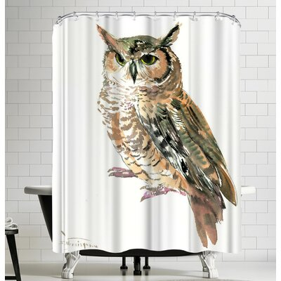 Suren Nersisyan Owl Shower Curtain
