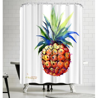 Suren Nersisyan Pineapple I Shower Curtain