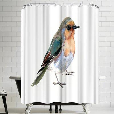 Suren Nersisyan Robin Shower Curtain