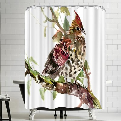 Suren Nersisyan Ruffed Grouse Shower Curtain