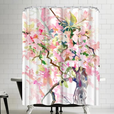 Suren Nersisyan Sakura Shower Curtain