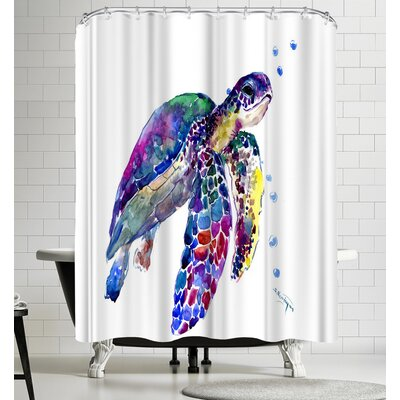 Suren Nersisyan Sea Turtle I Shower Curtain