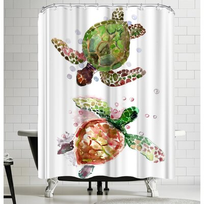 Suren Nersisyan Sea Turtles Shower Curtain