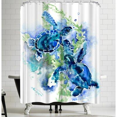 Suren Nersisyan Sea Turtles I Shower Curtain