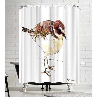 Suren Nersisyan Snowy Plover Shower Curtain