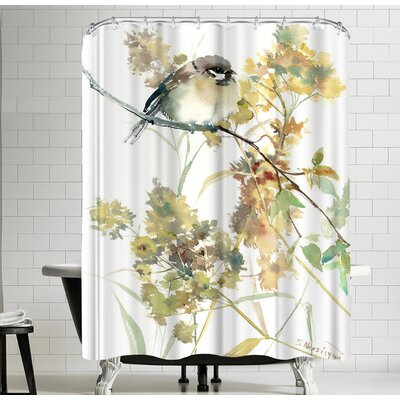 Suren Nersisyan Sparrow And Fall I Shower Curtain