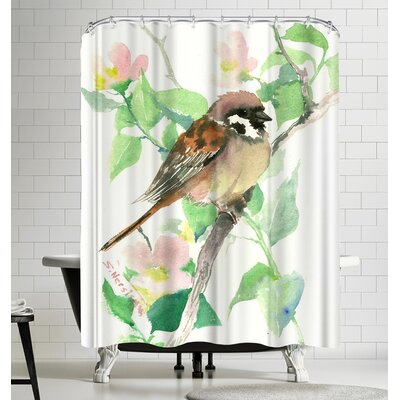 Suren Nersisyan Sparrow Sur Shower Curtain