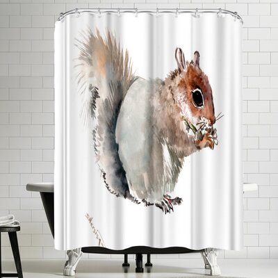 Suren Nersisyan Squirrell II Shower Curtain