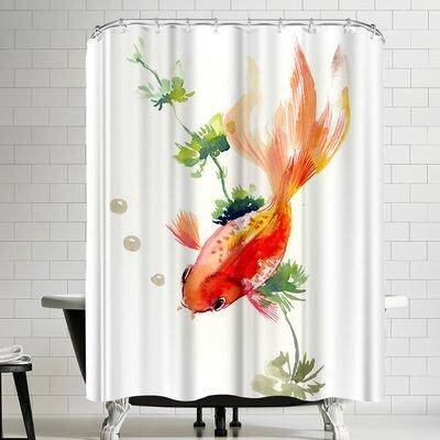 Suren Nersisyan Goldfish II Shower Curtain