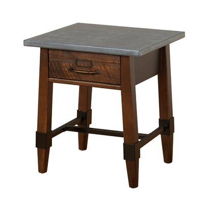St Andrews End Table with Storage