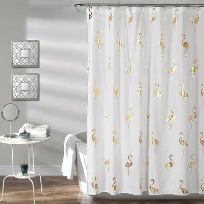 Heineman Flamingo Shower Curtain