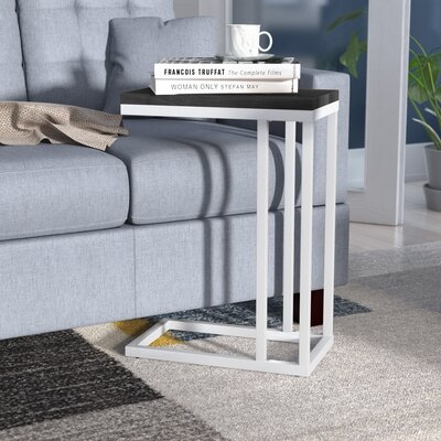 Chevell Side Table Color: Black