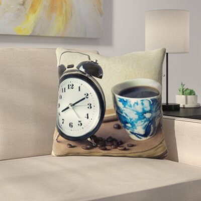Konieczny Coffee Time Throw Pillow