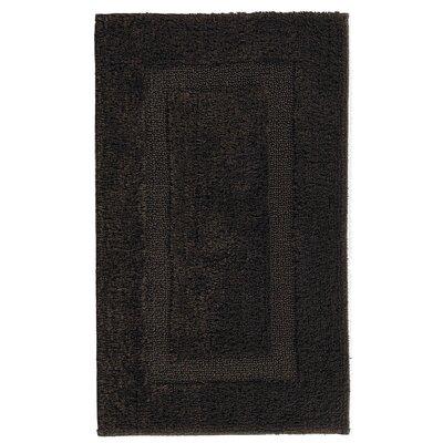 Hizer Classic Bath Rug Size: 24 W x 39 L, Color: Dark Chocolate