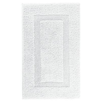 Hizer Classic Bath Rug Size: 24 W x 39 L, Color: White