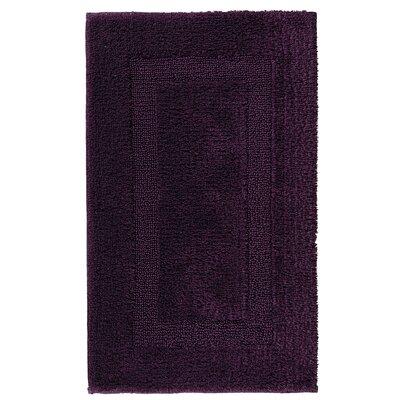 Hizer Classic Bath Rug Size: 24 W x 39 L, Color: Prune