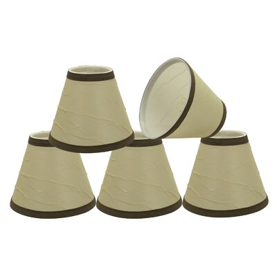 Hardback Clip-On 6 Linen Empire Candelabra Shade