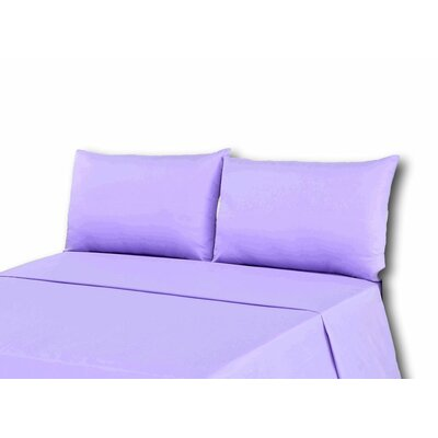 Madore 800 Thread Count 100% Cotton Sheet Set Size: King, Color: Light Purple
