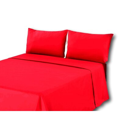 Madore 800 Thread Count 100% Cotton Sheet Set Size: Twin, Color: Red