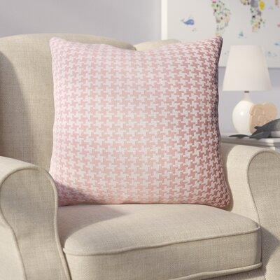 Eisen Indoor Throw Pillow Color: Rose Pink