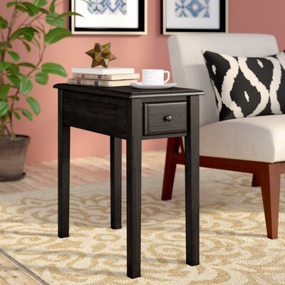 Dyana End Table Color: Charcoal