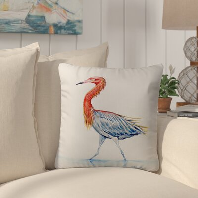 Henegar Heron Indoor/Outdoor Throw Pillow