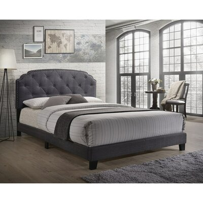 Mikesell Queen Upholstered Panel Bed