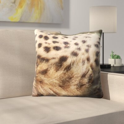 Animal Skin Throw Pillow