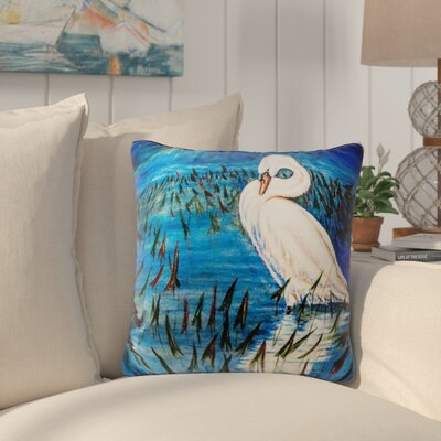 Henegar Mute Swan Indoor/Outdoor Throw Pillow
