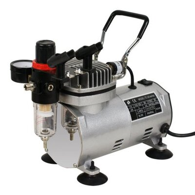 3 Airbrush Compressor Kit D1-1228A