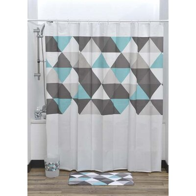 Nordik Printed Liner Shower Curtain
